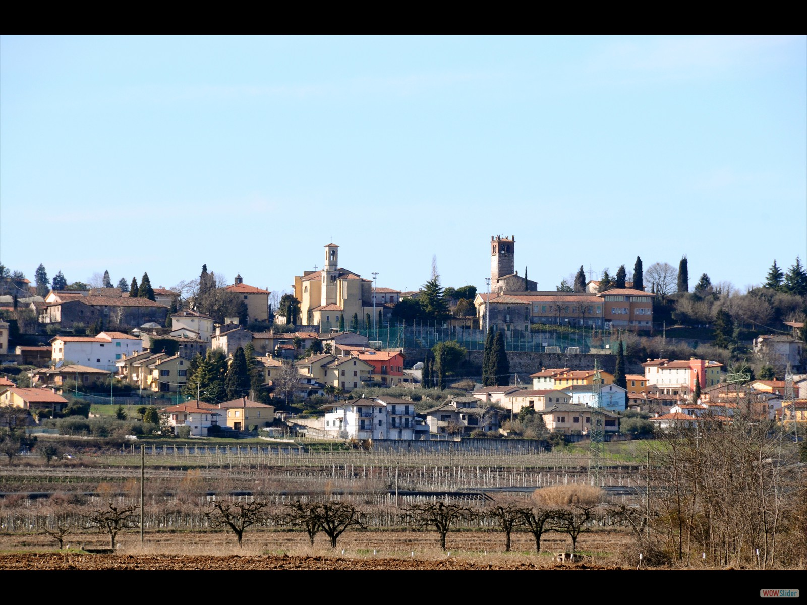 Palazzolo, un piccolo borgo di 2.912 abitanti